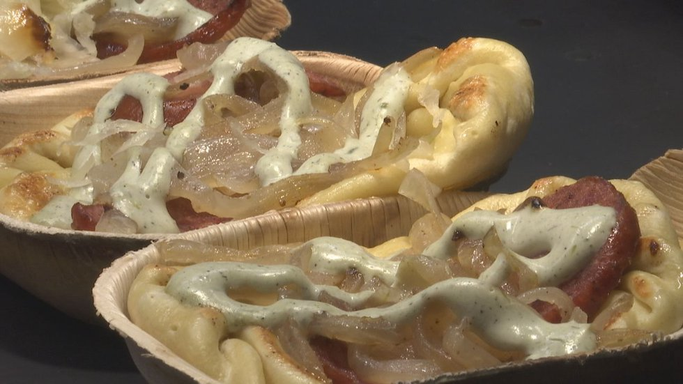 Lambeau Field has new concessions for the 2021 season, such as the Potato and Cheese Pierogi.