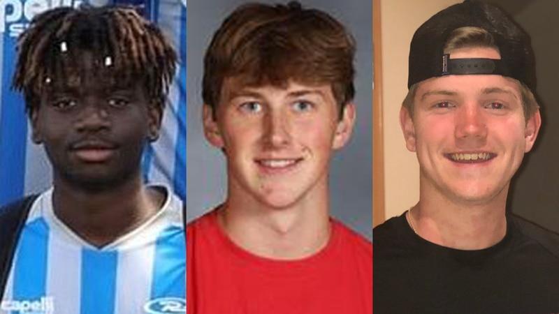 """(l-r) Simon Bilessi, Evan Kratochwill, and John """"Jack"""" Miller"""