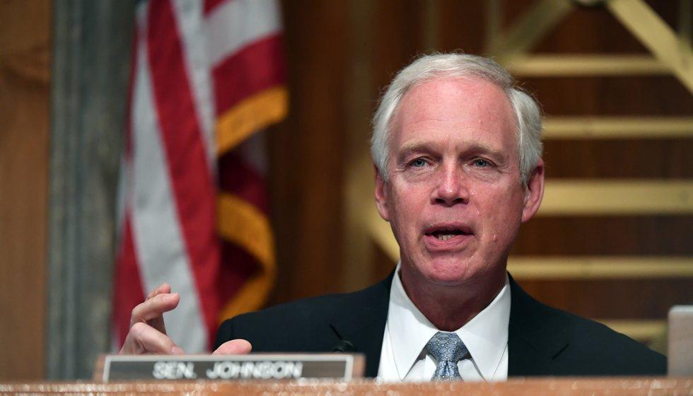 FILE: Sen. Ron Johnson, R-Wis. On Wednesday, Johnson urged Gov. Tony Evers to reconsider his...