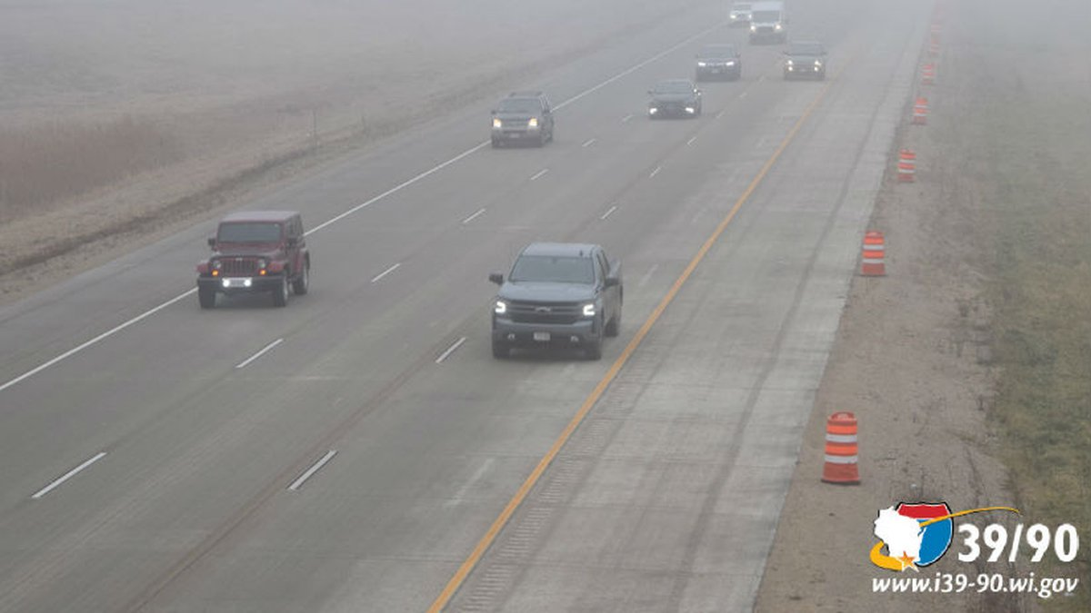 Three lanes are now open on I-39/90 northbound between the Rock River bridge near Edgerton and...