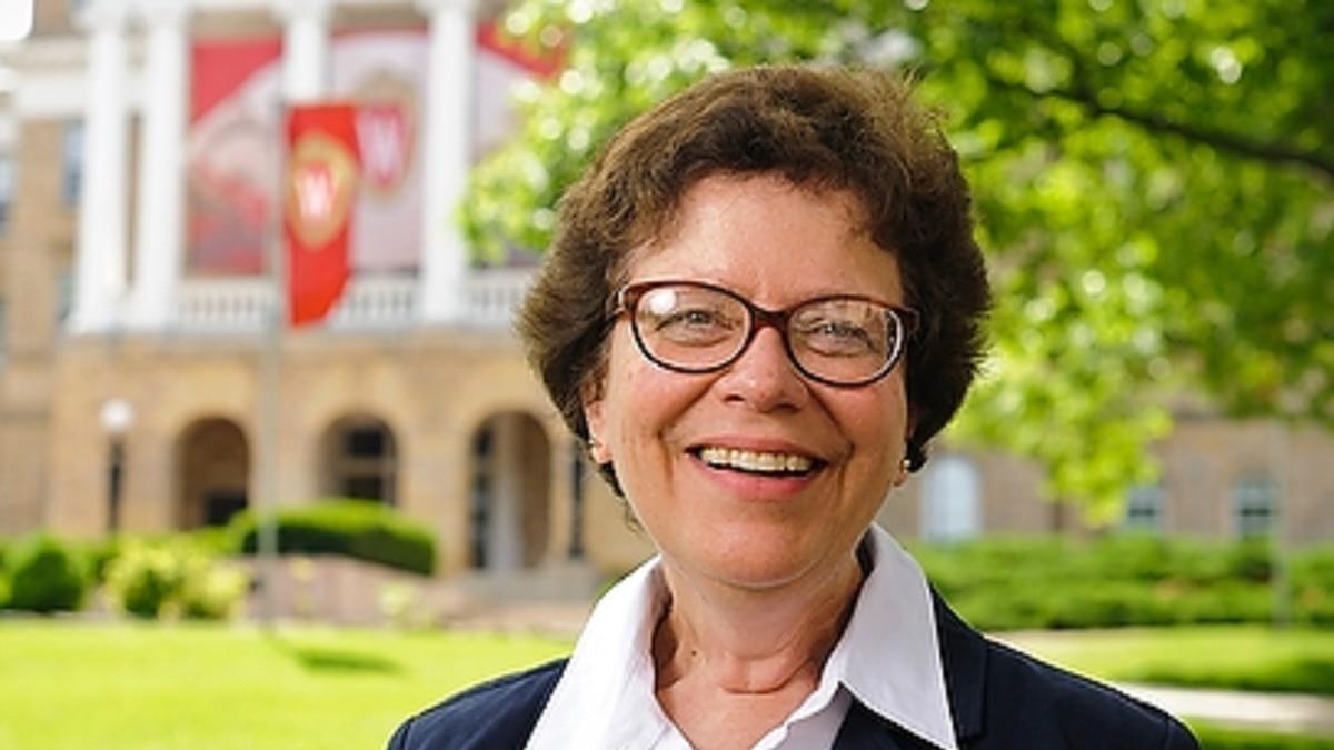 University of Wisconsin-Madison Chancellor Rebecca Blank