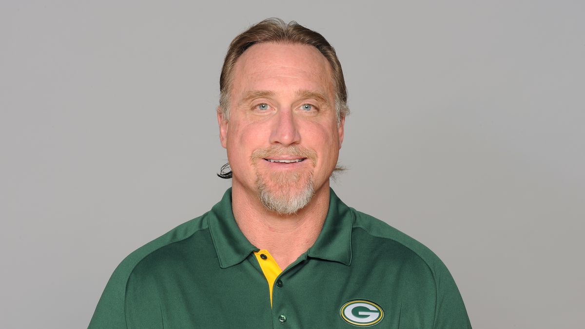 This is a 2012 photo of Kevin Greene of the Green Bay Packers NFL football team. This image...