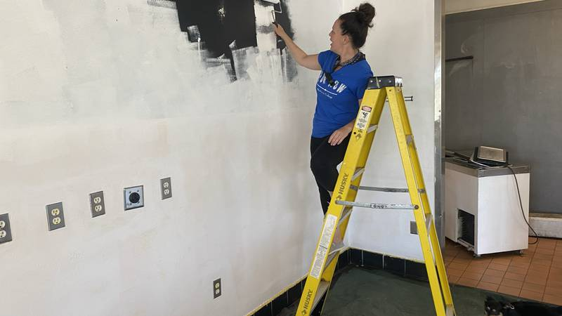 Preparations are underway on the west side of Madison, where a pop-up art gallery will be...