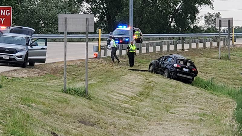 One person is dead after a single-vehicle crash on the exit to Greenway Blvd from the Beltline,...