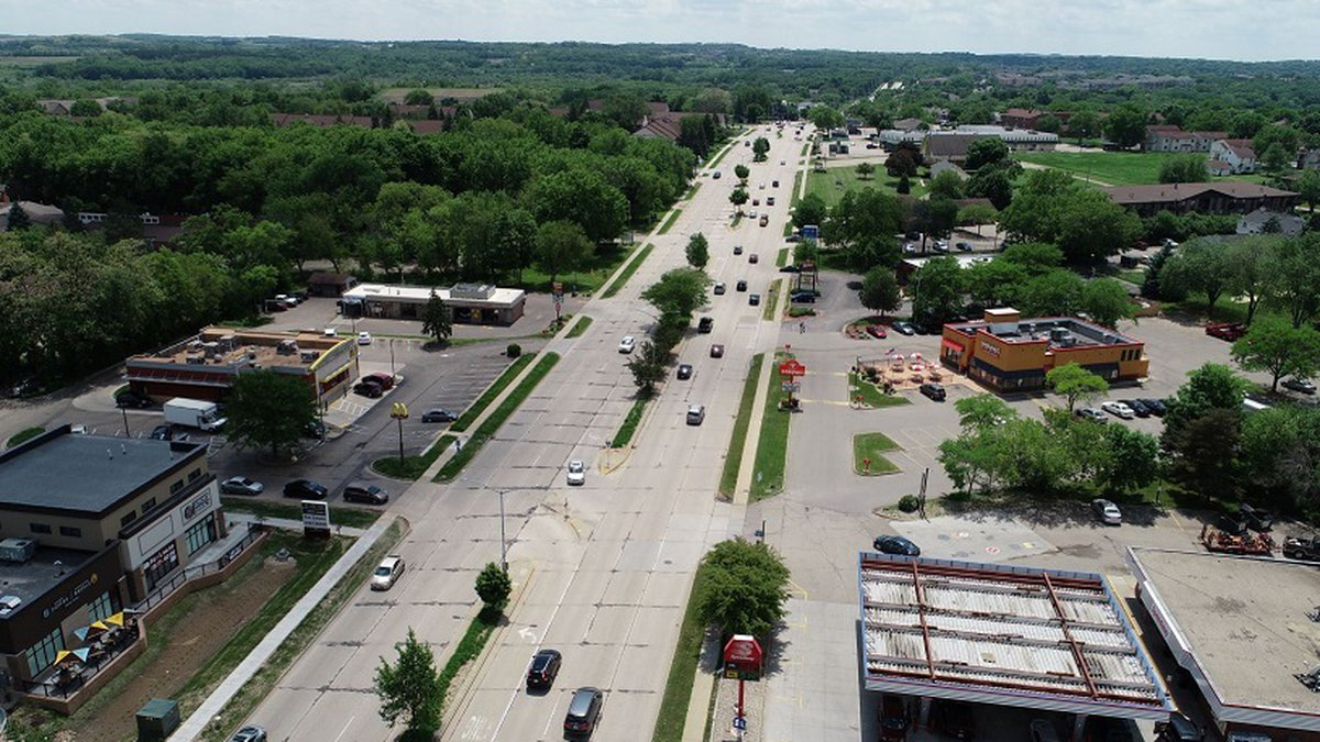 The area on Fitch Hatchery Road that will be under construction Spring 2020 (Source: City of...