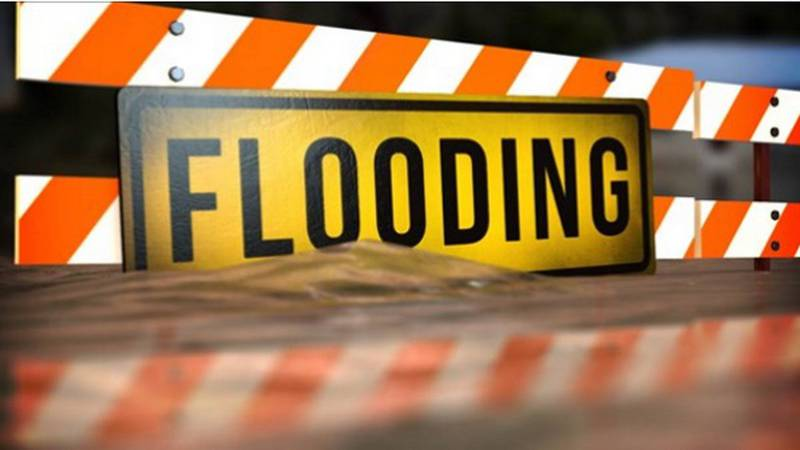 Officials are asking drivers if they see standing water to turn around, don't drown.