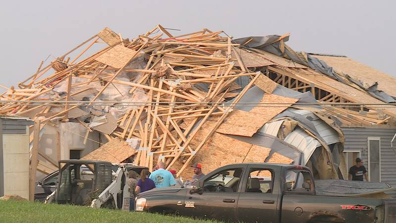The family is starting to pick up the pieces and rebuild, but they say they are glad everyone...