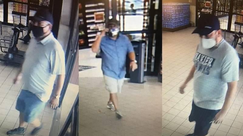 Janesville police are searching for these three suspect in a stolen wallet investigation.