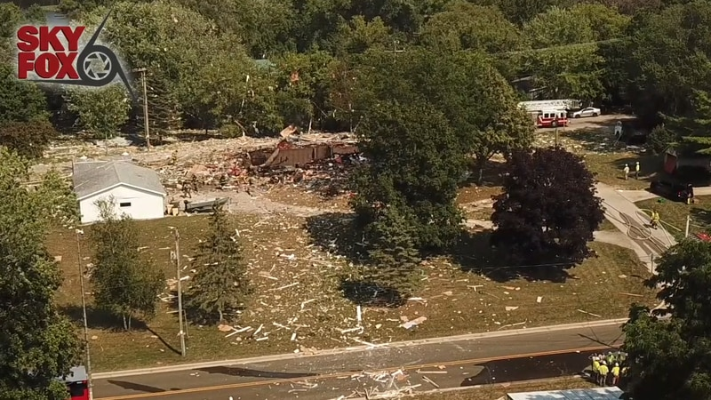A house has exploded in the Town of Rome in Jefferson County.