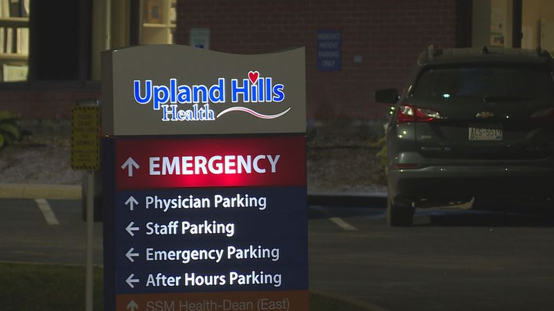 Upland Hills Health is feeling the stress of nearing capacity, according to the VP of nursing.