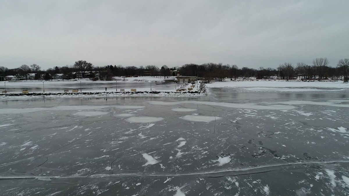 Lake Mendota froze over three weeks later than what's typical, according to a limnology expert.