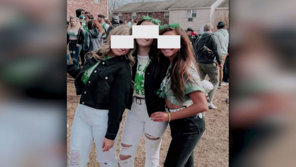 Three female freshmen, all honors students, at the University of Massachusetts Amherst attended...