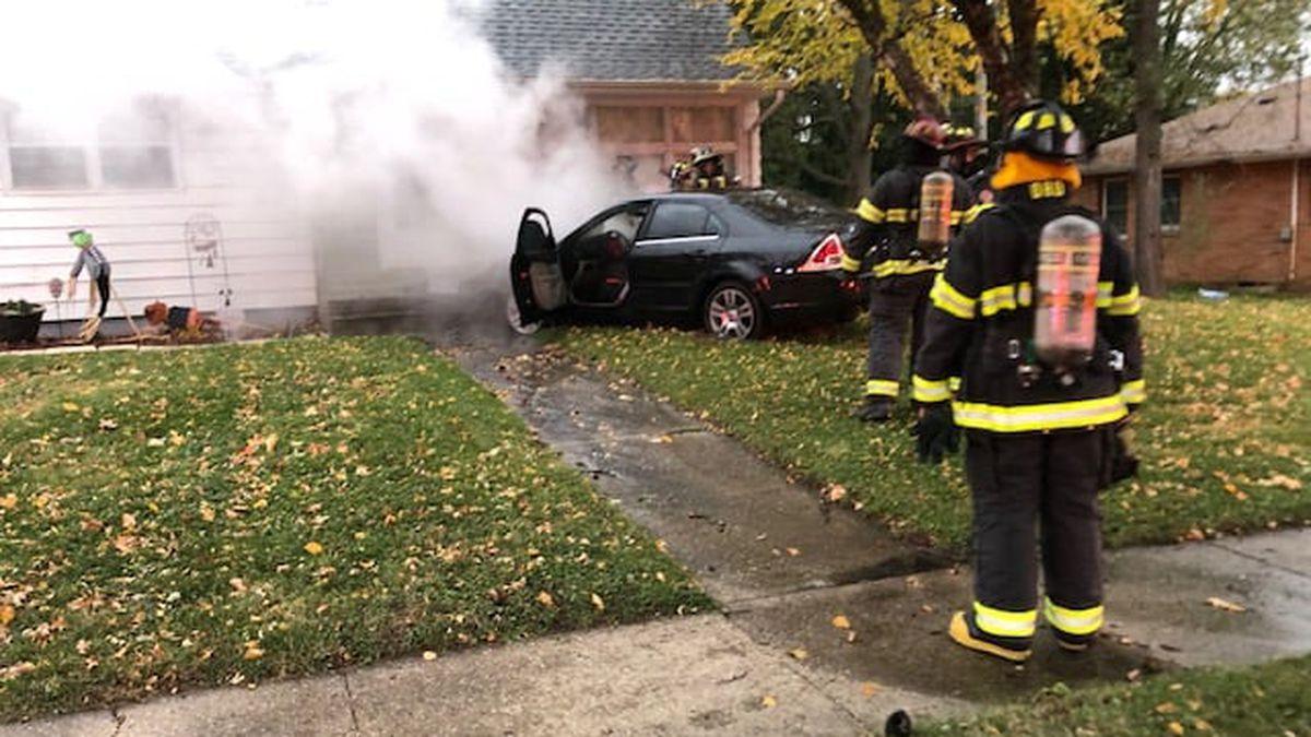 Beloit car versus house