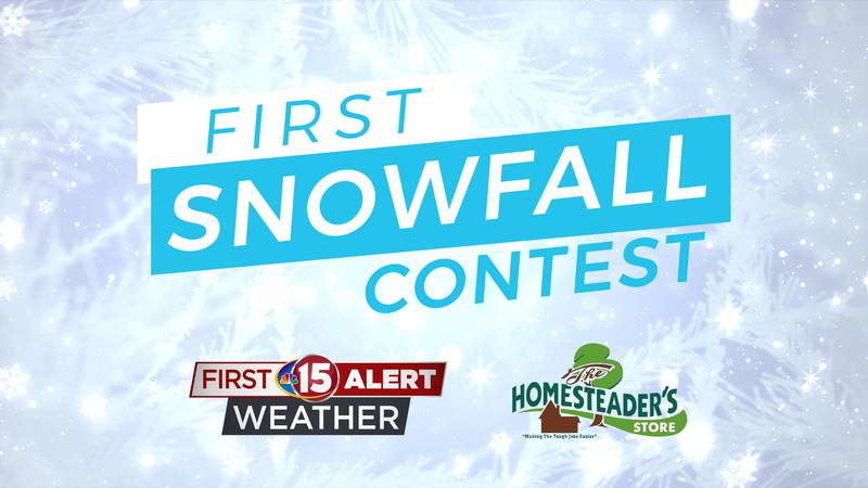 Predict the first Snowfall of the Year and you could win.