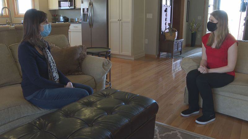 One local woman explains why she's hesitant to get the COVID-19 vaccine.