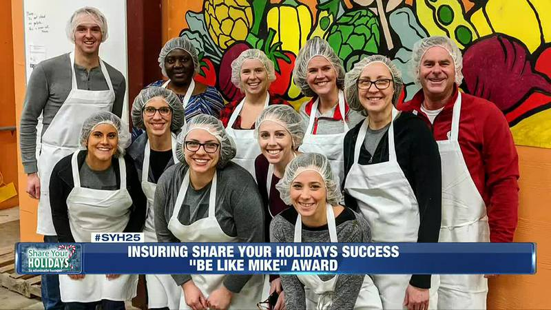 M3 Insurance employees have actively donated to NBC15 Share Your Holidays campaign.