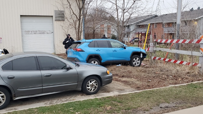 MPD arrested five people after an allegedly stolen car crashed by Pheasant Ridge.