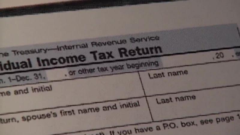 1040 tax return.