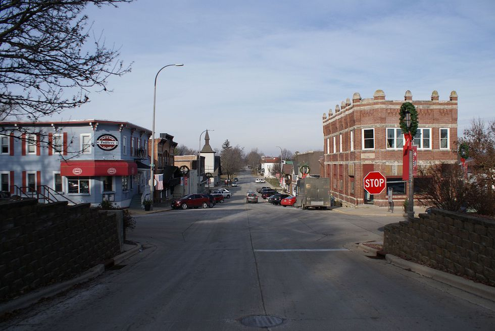 The 2nd Street Commercial Historic District (New Glarus, Green County)