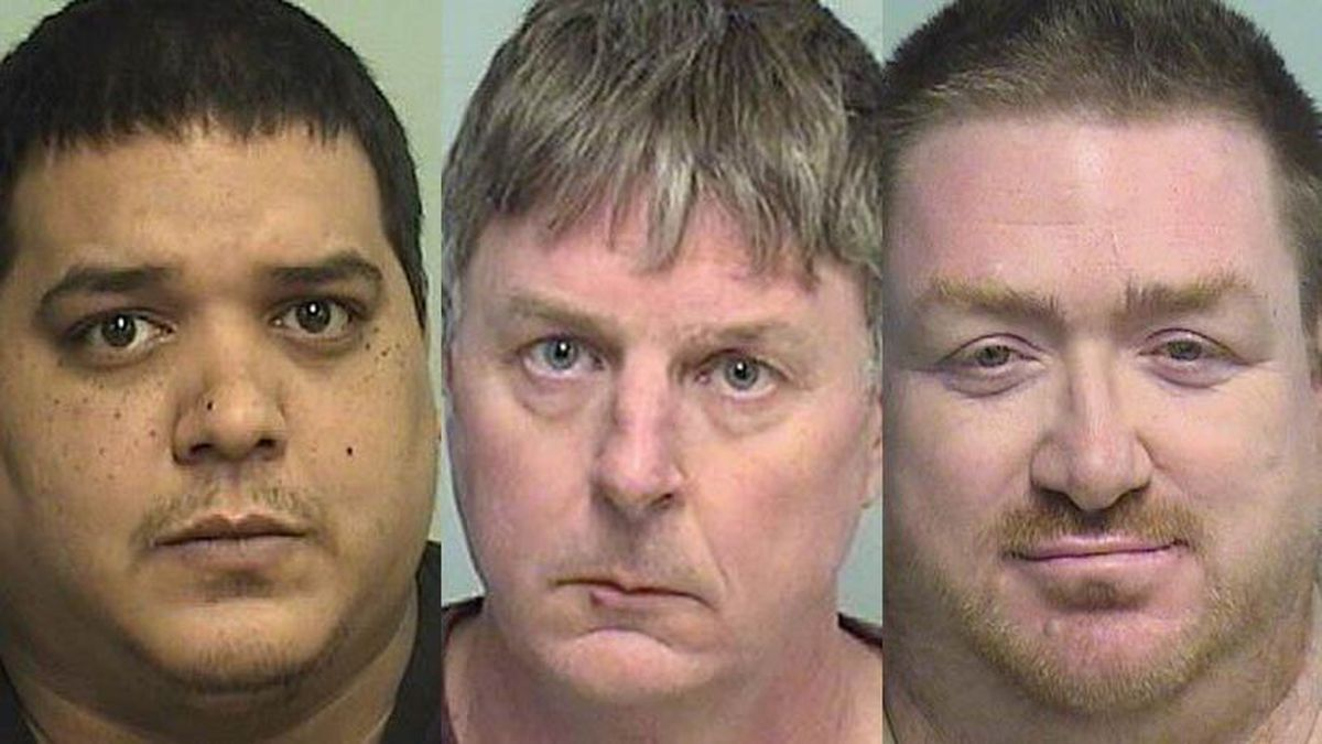 Roger Jimdar, Gregory Pahl, Sean O'Reilly (Source: Lake County Sheriff's Office)