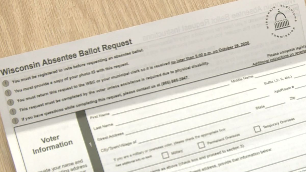 WI absentee ballot request form