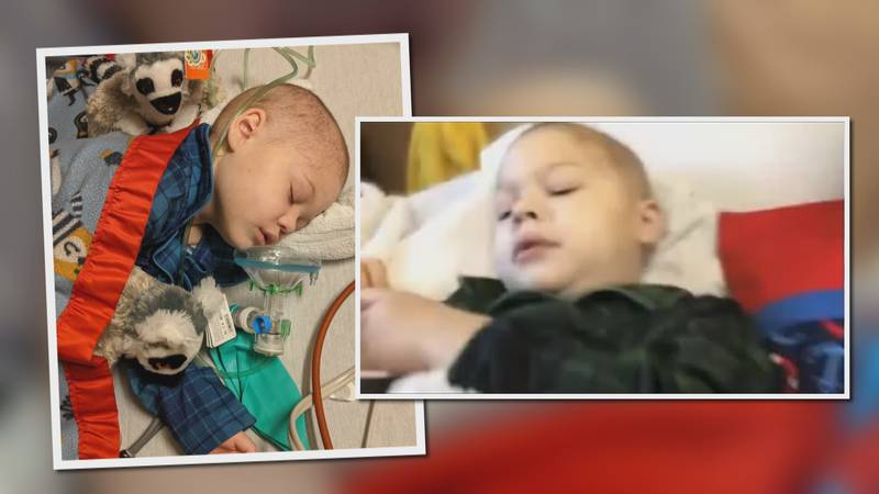 6-year-old Liam Sanborn is fighting his third leukemia diagnosis.