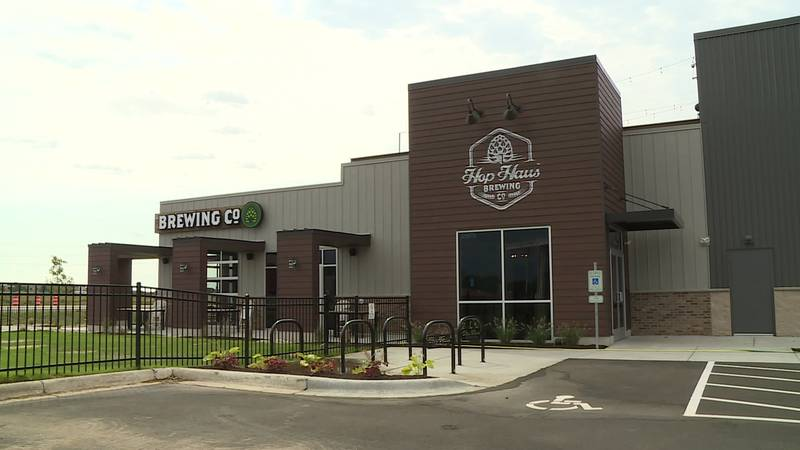 Hop Haus Brewing Company opened its new location in Fitchburg.