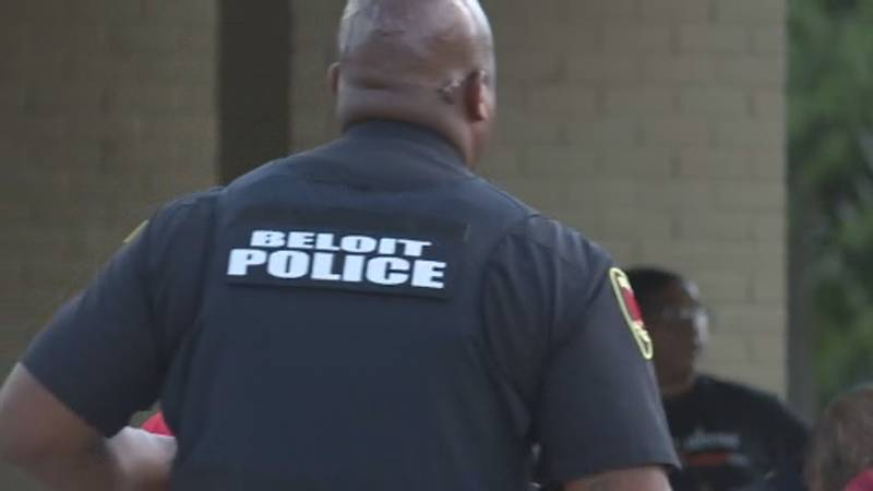 Beloit Police co-hosted a neighborhood event Tuesday at Vernon Park to discuss violent crimes.