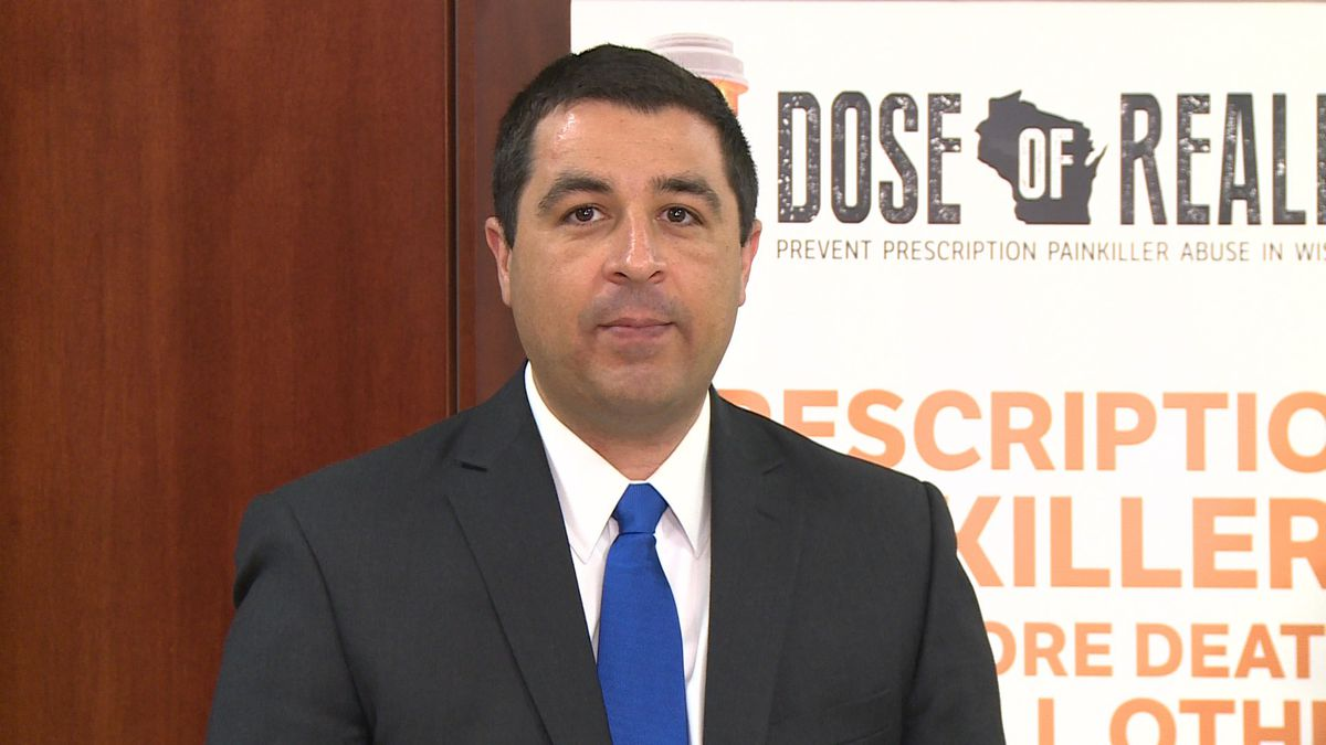 Attorney General Josh Kaul was in Eau Claire Tuesday, talking about a lawsuit alleging one...