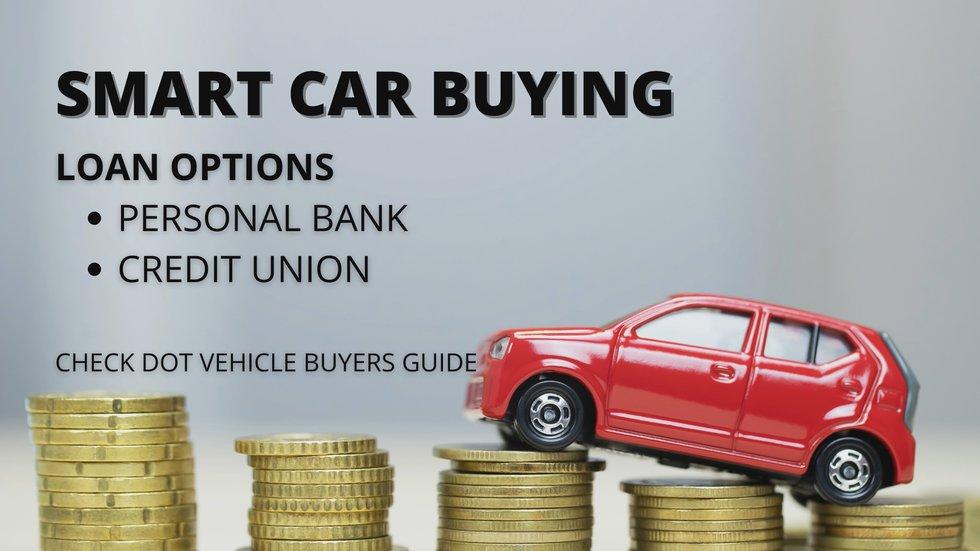 Smart car buying options