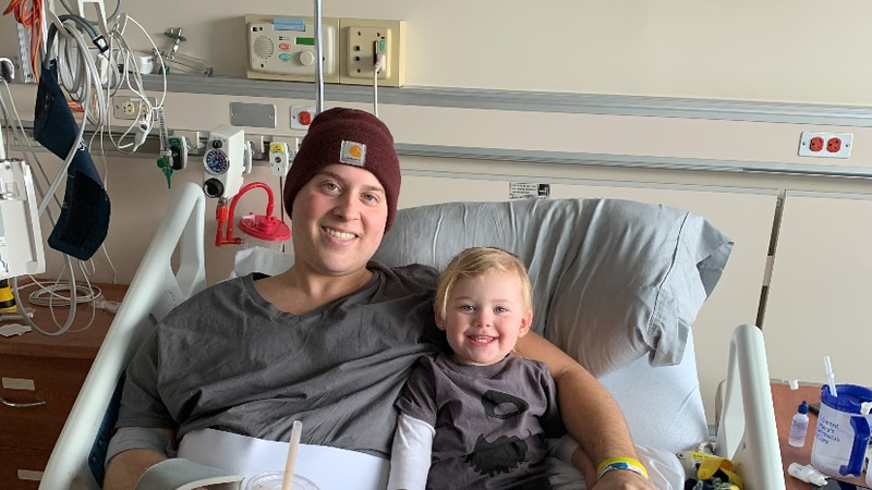 Brown County Sheriff's Deputy Jordan Hooper was diagnosed with bone cancer in 2019. Nearly a...
