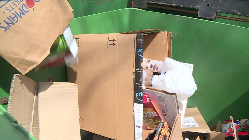 The Madison Streets Division says nearly 20 percent of what people recycle needs to be thrown...