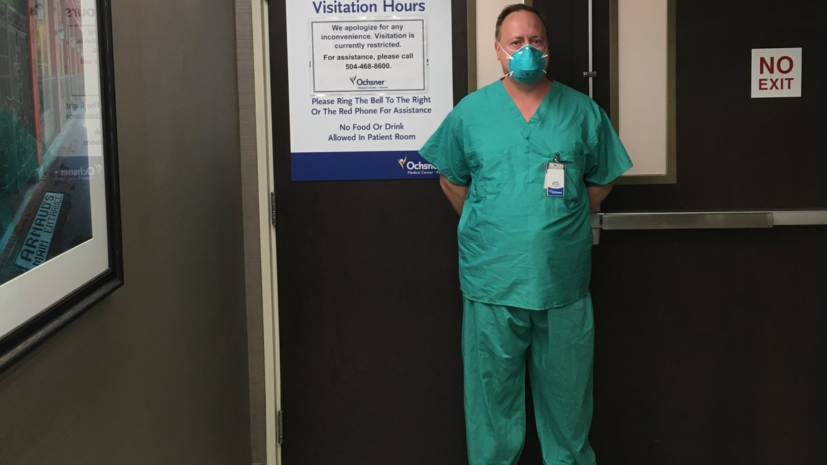 Dr. Jay MacNeal, Mercyhealth's EMS Medical Director, is currently deployed to Louisiana to help...