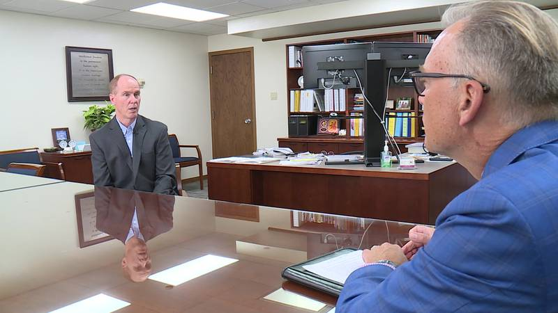 School District of Janesville Superintendent  Steve Pophal and NBC15's John Stofflet discuss...