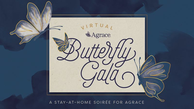 Agrace Butterfly Gala blossoms into a Stay-At-Home Soiree