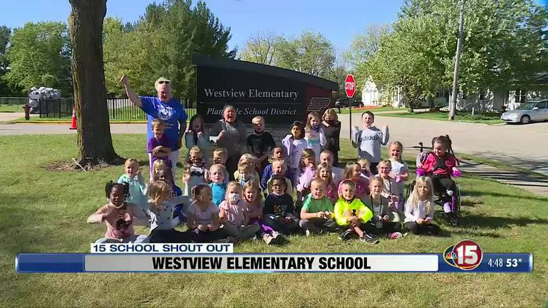 This NBC15 School Shout Out comes from Westview Elementary School in Platteville.