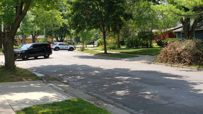 Here is the shots fired scene.  Tanager Trail and Kroncke Dr.  Counted at least 9 shell...