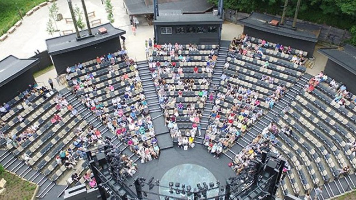 American Players Theater's Spring Green amphitheater (Source: APT)